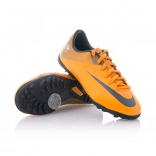 Chaussure  Nike Jr Mercurial Victory II TF Orange-Marino