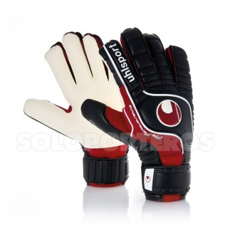 Guante  Uhlsport Fangmaschine Pro Comfort Textile Negro-Rojo