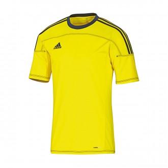 T-Shirt  adidas Toque 11 Amarilla Fluor-Navy blue