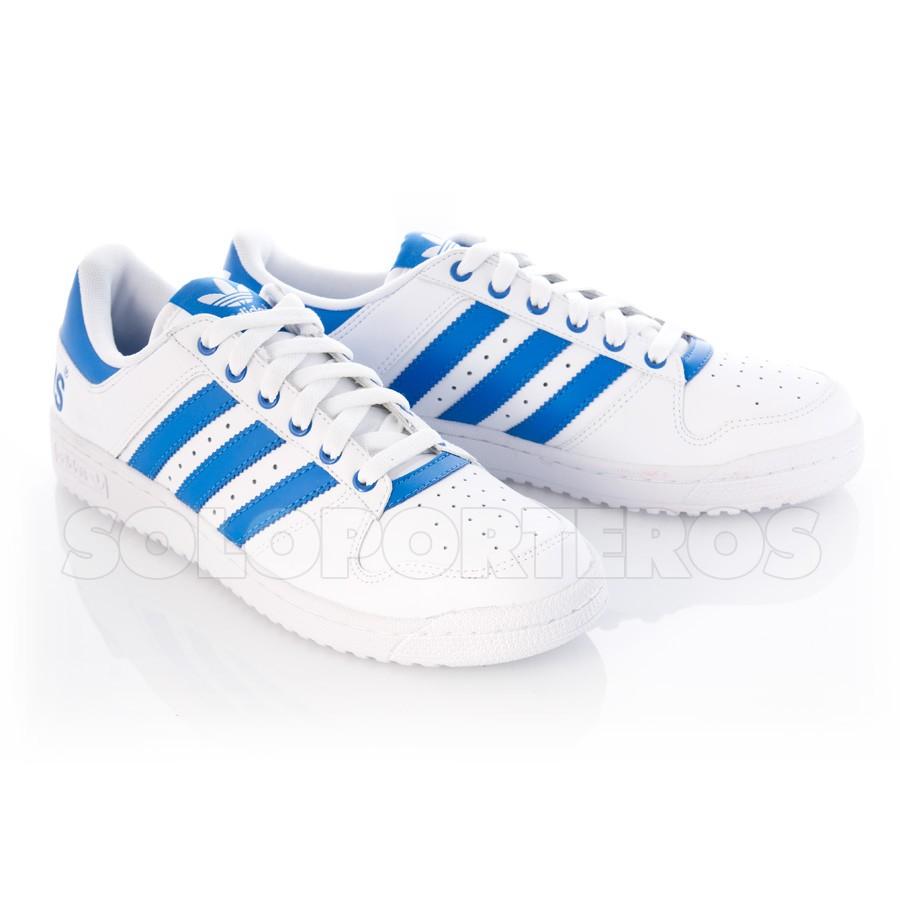 zapatillas adidas azul francia