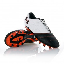 Chaussure  Under Armour Striker FG Blanc-Noir