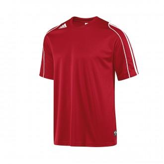 T-Shirt  adidas Squad II Red-White