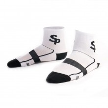 Pack  Soloporteros 3 Calcetines Cortos SP White-Black