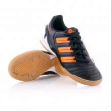 Zapatilla  adidas Jr Predator Absolado IN Negra-Naranja