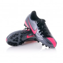 Boot  Nike Jr T90 Shoot IV AG Gray-Fuchsia
