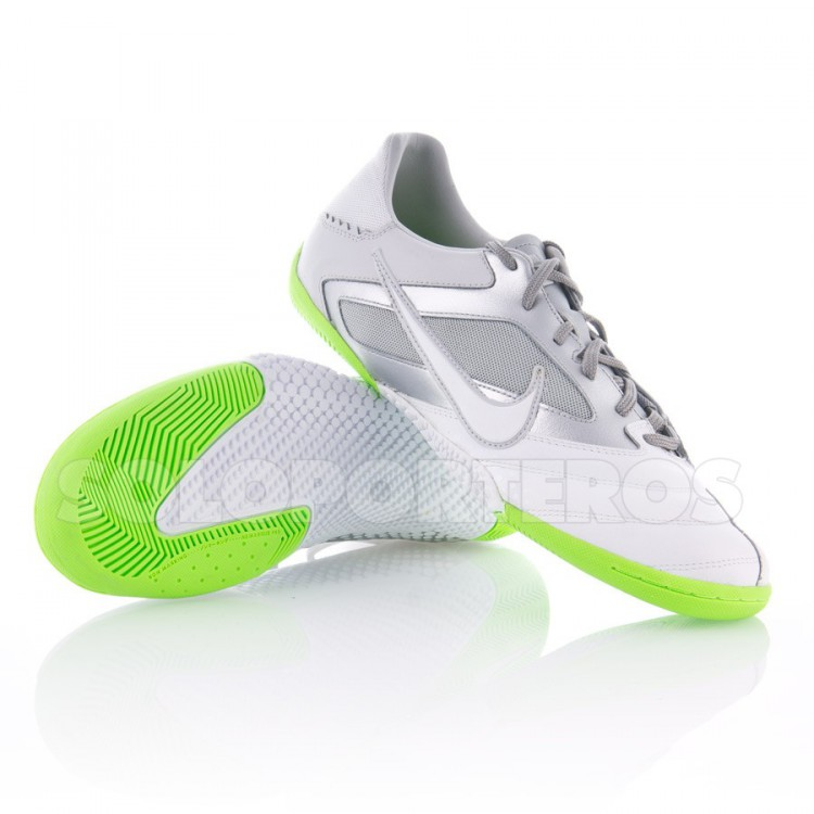 Zapatilla Nike5 Elastico Pro Blanca-Plata-Verde - NI415121.110