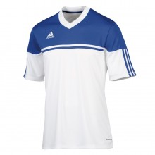 Camiseta  adidas Autheno 12 Blanco-Azul