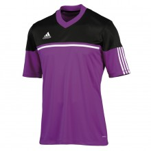Camiseta  adidas Autheno Morada-Negra