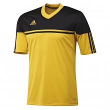 Camiseta  adidas Autheno 12 Amarillo-Negro