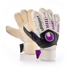 Guante  Uhlsport Ergonomic Absolutgrip Bionik X-Change Blanco-Morado
