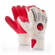 Guante  Uhlsport Ergonomic Absolugrip Bionik Blanco-Rojo