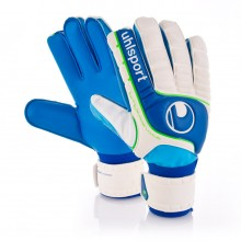 Glove  Uhlsport Fangmaschine Aquasoft Blaco-Blue