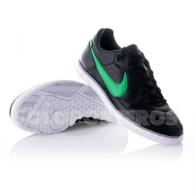 Zapatilla Nike5 StreetGato Negra-Verde - NI442125.030