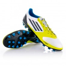 Boot  adidas F50 Adizero TRX AG Synthetic White-Lime