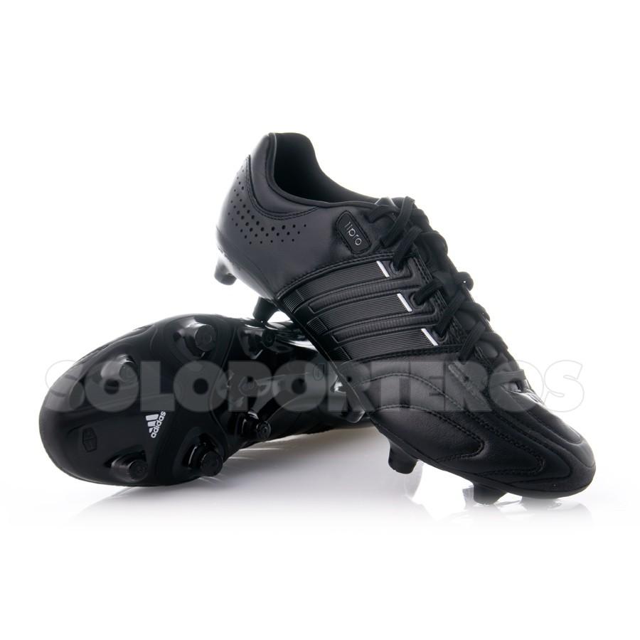 adidas negras botas de futbol