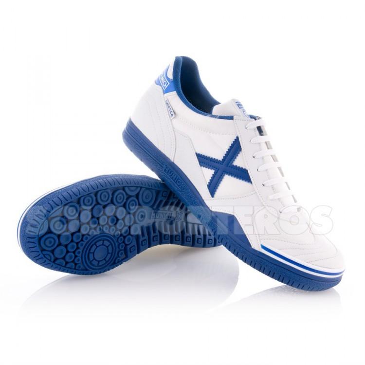Zapatilla Gresca Blanca-Azul - MU300143