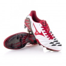 Boot  Mizuno Wave Ignitus 2 MD White-Red-Black