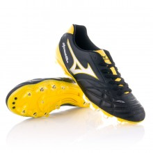 Boot  Mizuno Supersonic Wave 3 MD Black-Silver-Yellow