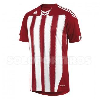 Maillot  adidas Stricon Blanc-Rouge