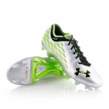 Bota  Under Armour 10K Force Pro II FG Plata-Verde