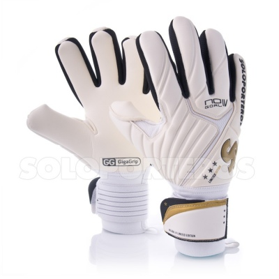 Guante No Goal IV Limited Edition Blanco-Oro - SP12.525