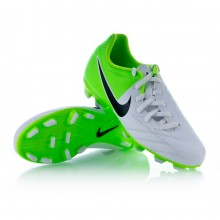 Bota  Nike Jr Total 90 Shoot IV FG Blanca-Verde