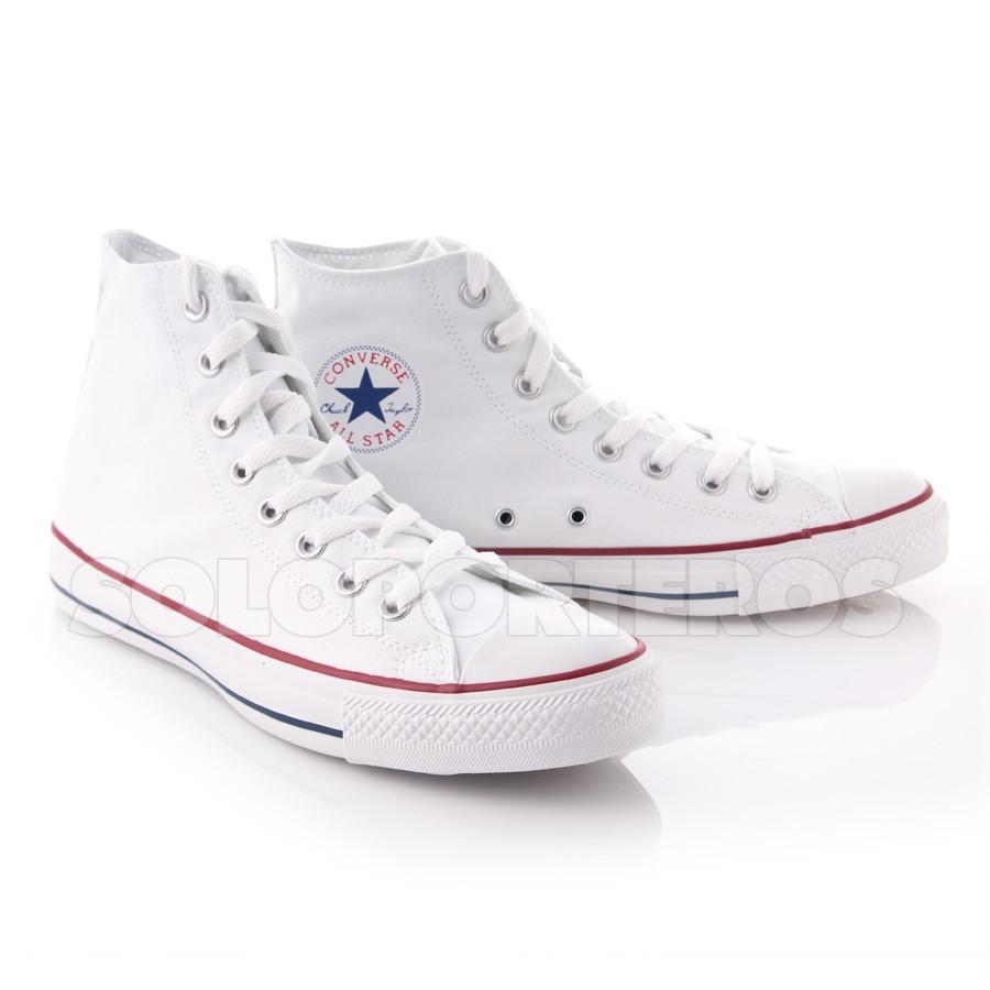 zapatillas converse chuck taylor blancas