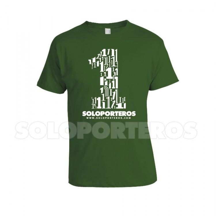 Camiseta Número 1 Verde - SP12.613