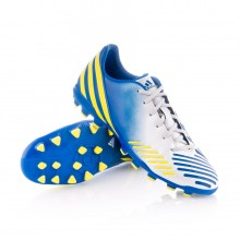Boot  adidas Predator Absolado LZ TRX AG White-Blue-Yellow