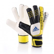 Glove  adidas Predator Fingersave Replica Black-Yellow