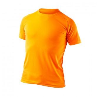 Camiseta  Valento Tecnica Naranja Fluor