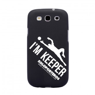 Parte Superior  Soloporteros Samsung Galaxy S3 I´m Keeper Negro mate