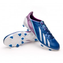 Boot  adidas adizero F50 TRX FG Synthetic Dark Blue