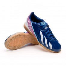 Tênis  adidas Jr F5 IN Dark Blue