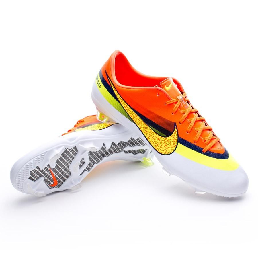 reputable site 4bc58 c78ab ... Nike IX Mercurial Vapor FG - Futebol Botas Roxas Verdes Fluorescentes Mercurial  Vapor IX ...