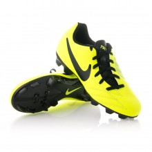 Chuteira  Nike Jr Total 90 Shoot IV FG Volt