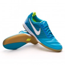 Trainers  Nike Nike5 Gato II Blue-Yellow