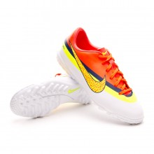 Boot  Nike Jr Mercurial Victory IV CR Turf White-Volt-Mango