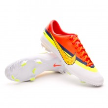 Boot  Nike Jr Mercurial Victory IV CR FG White-Volt-Mango