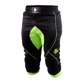 Calças Pirata  Soloporteros Olympic Preto-Verde
