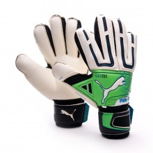 Glove  Puma Powercat 1.12 Protect White-Green-Black
