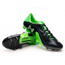 Bota  Under Armour Spine Blur III FG Negra-Verde