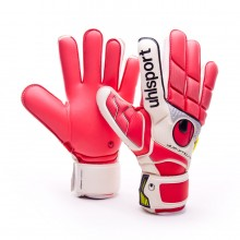 Glove  Uhlsport Fangmaschine Absolutgrip Red-White