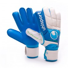 Glove  Uhlsport Fangmaschine Aquasoft White-Blue
