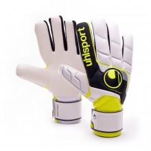 Glove  Uhlsport Fangmaschine Soft HN White-Black-Yellow