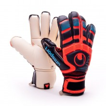 Glove  Uhlsport Cerberus Absolutgrip Handbett Black-Red