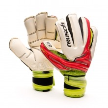 Glove  Reusch Argos Deluxe G2 Ortho-Tec White-Red-Green