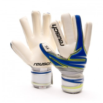 Guante  Reusch Argos Pro G2 Bundesliga Blanco-Azul