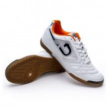 Chaussures  Cruyff Dribble Blanc-Orange