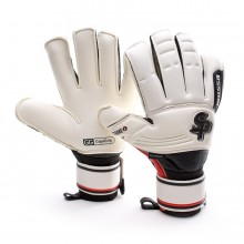 Glove  Soloporteros Mussa Strong Roll-Flat White-Black